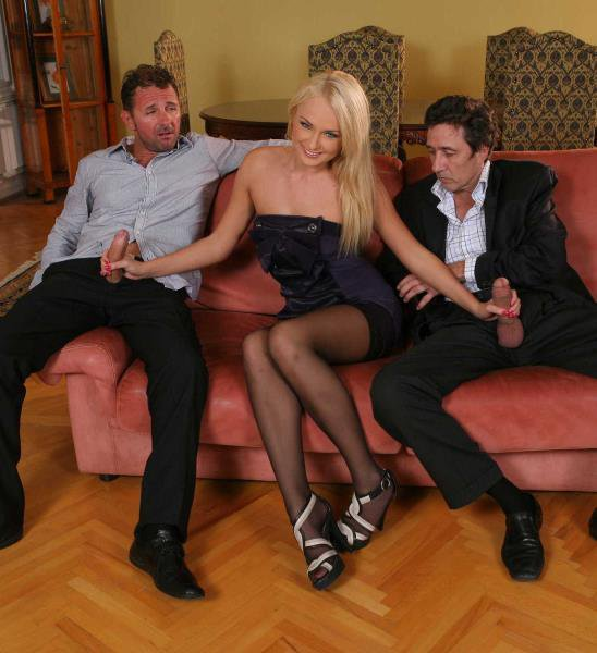 RealWifeStories: Ivana Sugar - DP at the Euro Swinger Sex Party