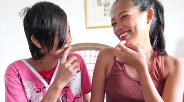 FilipinaSexDiary: Nica and Sally - Nica and her Girlfriend Sally 720p