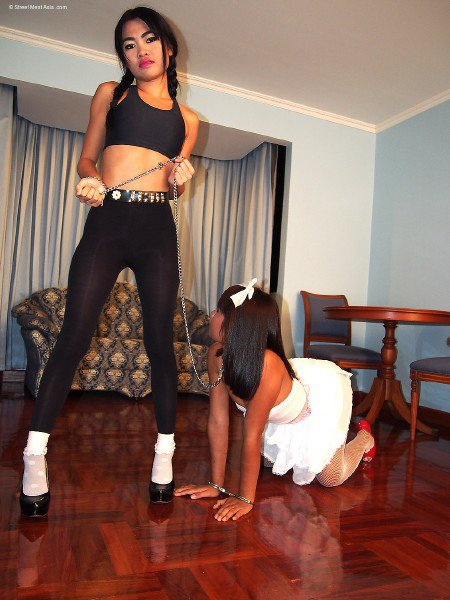 StreetMeatAsia: Kacey Lane - Lesbians Slave Bom And Peach 720p