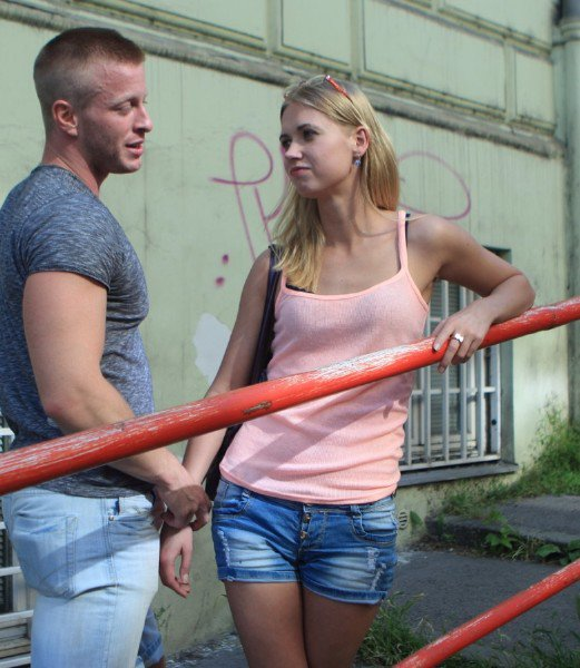 WTFPass: Violette-Pure - Blonde Bombshell In Hot Meet N Fuck Porn 720p