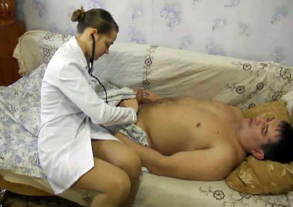 дому порно на русское медсестра