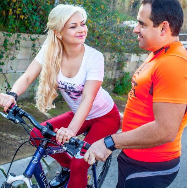 WTFPass: Lana Sweet, Xavi - Bicycle Ride Gets A Sexy Blonde Stanger Horny 720p