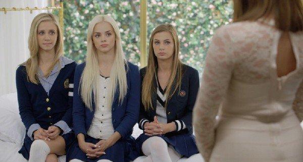 Blaked: Elsa Jean, Rachel James, Sydney Cole - Preppy Girl Threesome Get Three BBC 720p