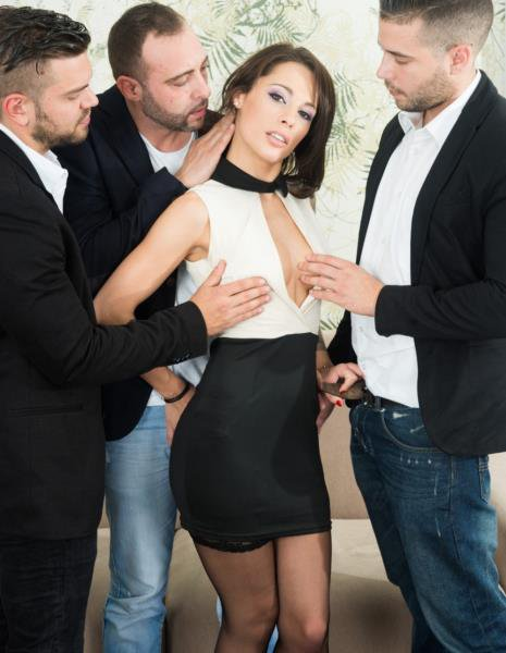 Private: Nikita Bellucci - Gets An Anal Creampie In A POV Gangbang 720p