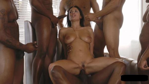 Colette: Anissa Kate - Interracial Gang Bang Hot Latina 720p