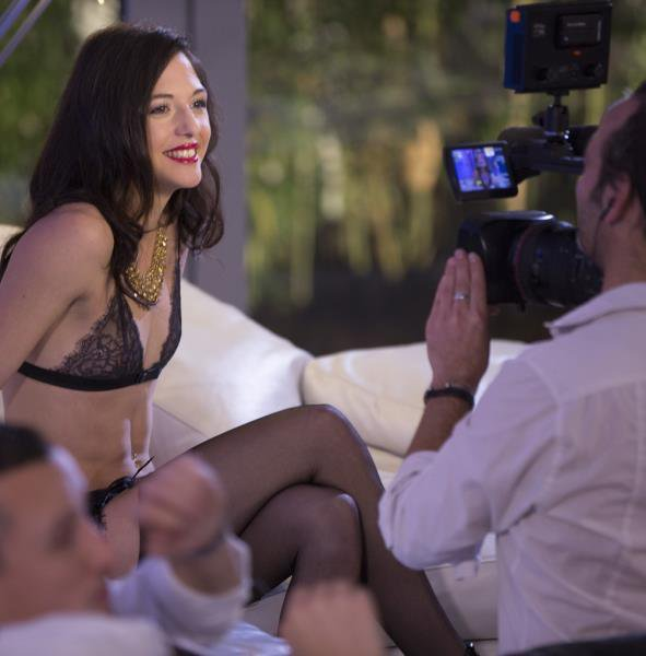 Drcel: Claire Castel, Kimber Delice, Ines Lenvin, Luna Rival, Rachel Adjani - Backstage Making Of Escort Deluxe 1080p