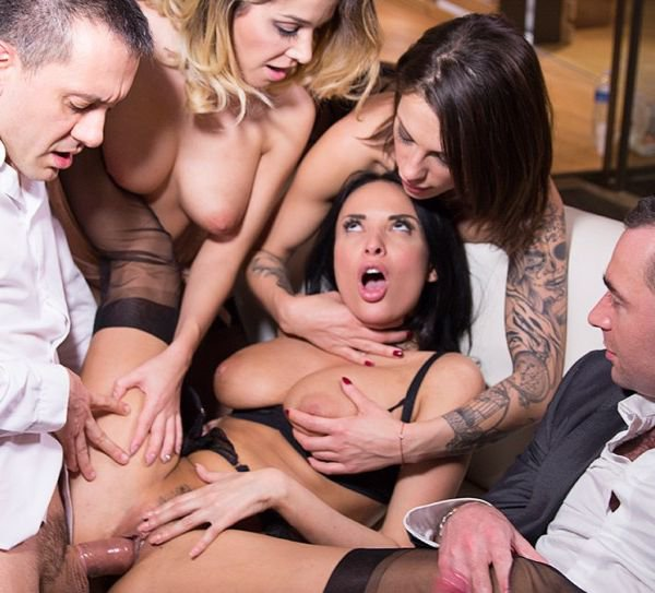 Drcel: Anissa Kate, Cara St Germain, Nikita Bellucci - Group Sex With Employees 1080p