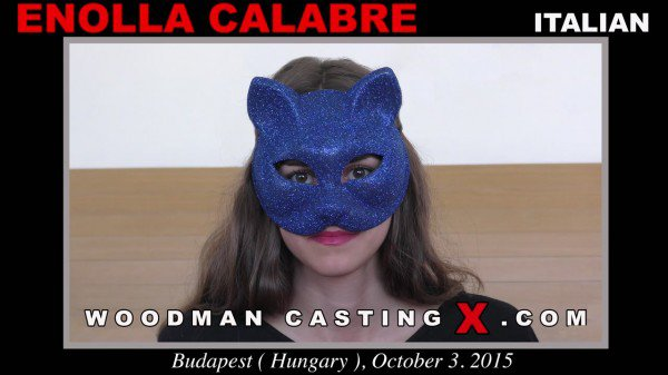 WoodmanCastingX: Enolla Calabre - Shy Girl In Mask On Porn Casting 720p
