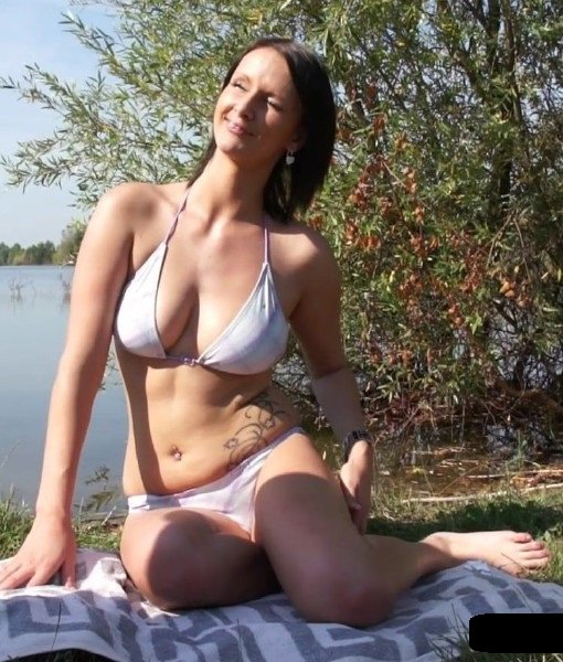 PublicFuck: Kveta - Horny Girl Fuck On Lake 1080p