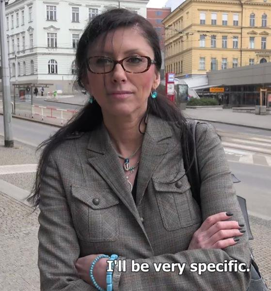 CzechStreets: Jana - Pickup Old Secretary 1080p