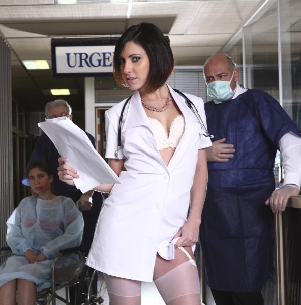 Drcel: Nikita Bellucci, Alexa Tomas, Anna Siline, Lena Nitro, Ines Lenvin - Backstage Making Of Nurse Porn Film 1080p