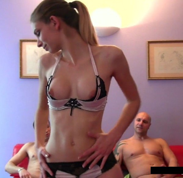 JacquieEtMichelTV: Linsey - Two Guys Pickup And Fuck Skinny Girl In France 1080p