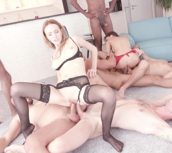 LegalPorno: Belle Claire, Francys Belle - Orgy Anal Gang Bang