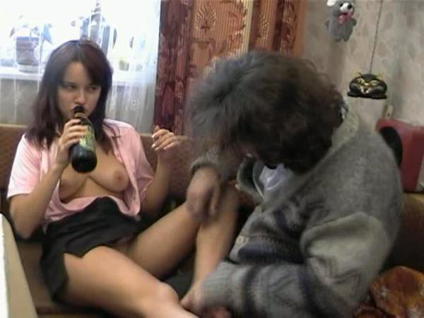 TheyDrunk: Kristina - Russian Threesome Drunk Fuck