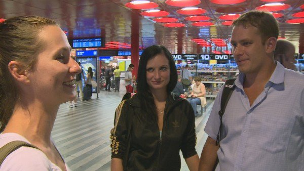 CzechCouples: Amateur - Sex At The Airport For Money 720p