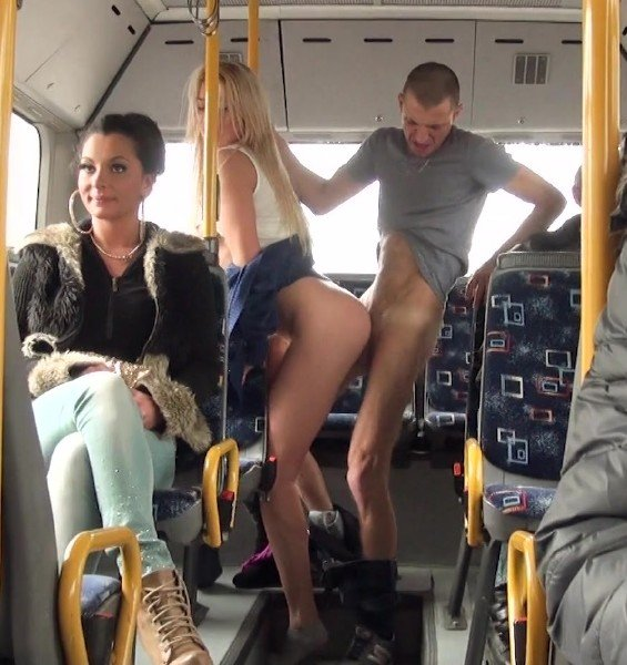 PublicFuck: Lindsey Olsen - Public Fuck On The Bus 1080p