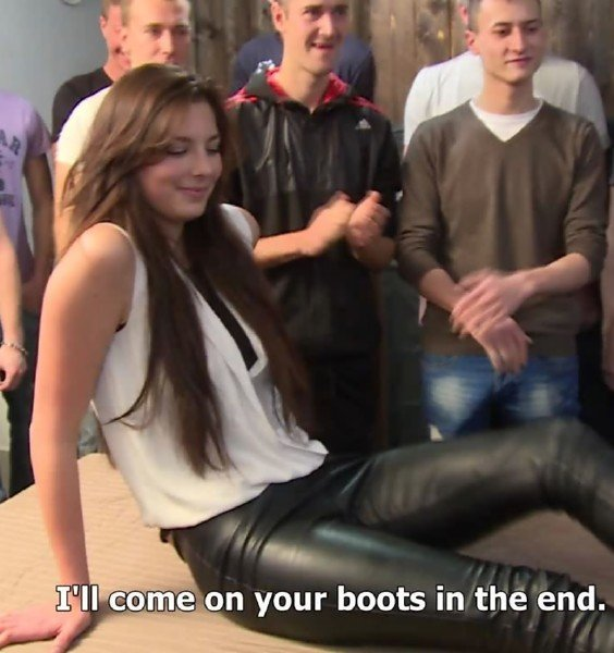 CzechGangBang: Amateur - Many Guys Fuck One Girl 720p