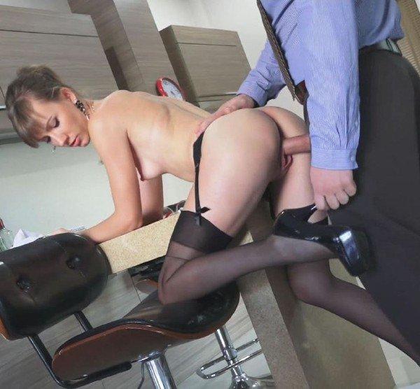 Clips4Sale: Angel Desert - Boss Fuck New Secretary Girl 1080p