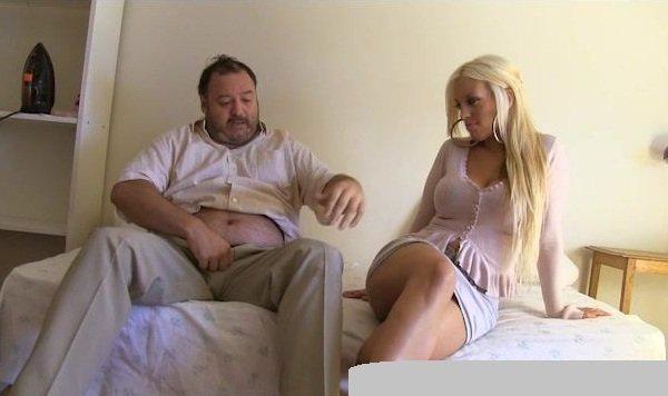 PutaLocura: Blondie Fesser - Glamour Blonde Girl Suck Dick Fat And Ugly Man 720p
