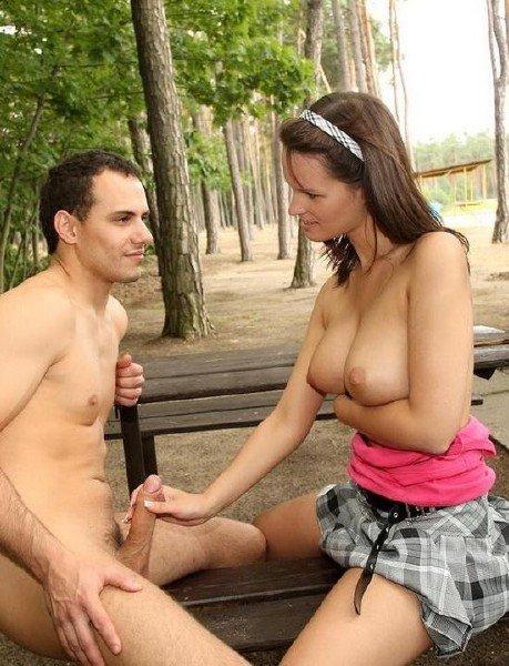 MySexyKittens: Rita Argiles - Public Sex In The Park 360p