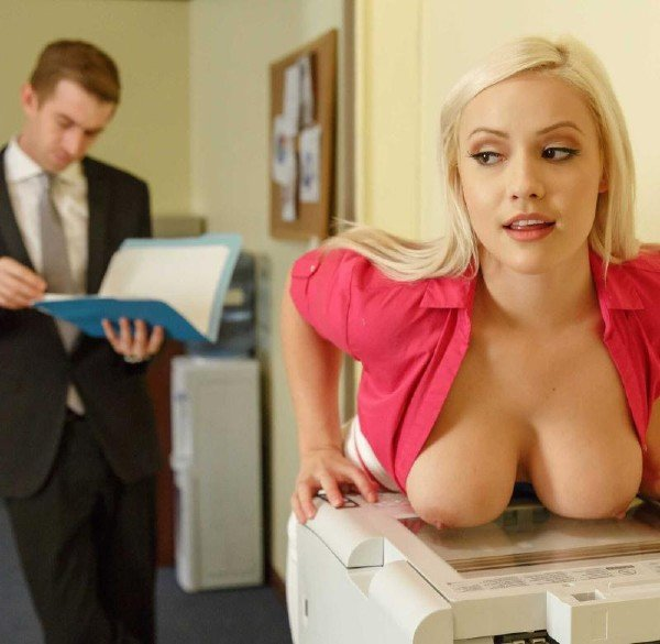 Bang Bros: Kylie Page - Sex With Secretary 480p