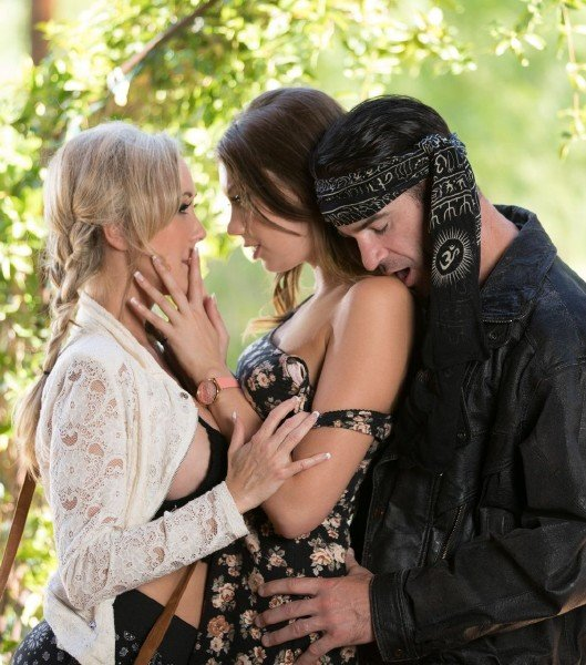 HDLove: Elena Koshka And Brandi Love - Beautiful Threesome Sex 544p