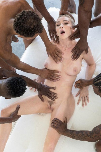 BrothaLovers: Kendra Sunderland - Orgy With BBC 480p