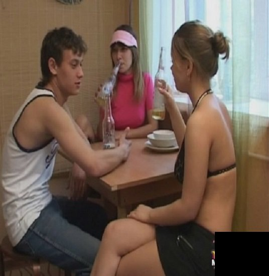 MyTeenVideo: Alenushka And Erika - Russian Teen Threesome 576p