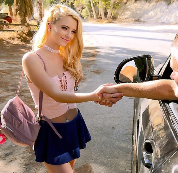 PickupGirls: Riley Star - Old Man Pickup And Fuck Teeny Student Girl 480p