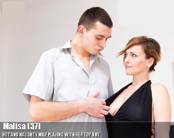Mature: Malisa - Naughty Milf Fucked By Young Boy 540p