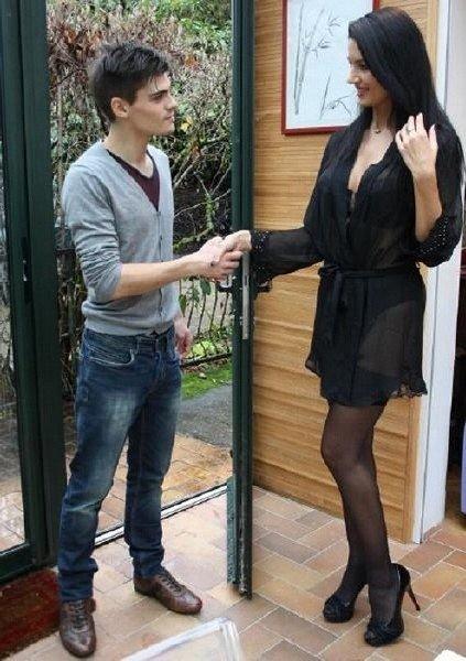 CuckoldPorn: Ania Kinski - Husband Wife And Young Lover 720p