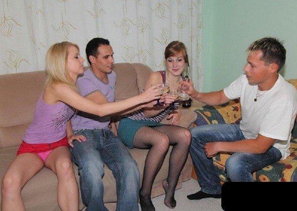 StudentSexParties: Amateur - Russian Drunk Swinger Sex 720p