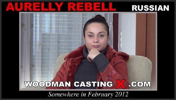 Porn Casting: Aurelly Rebell aka Kristall Rush - Woodman Hardcore 540p